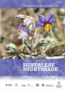 Silverleaf_Nightshade_Australian_Best_Practice_Manual_2018_cover